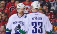 Brāļi Sedini nepiedalīsies pasaules hokeja čempionātā Krievijā