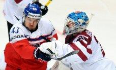 Latvijas hokejisti sagādā vēl vienu pārsteigumu un dramatiski zaudē čehiem