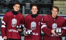 Latvijas U-18 izlases spēlētājs Zeile: sajūtas ir fantastiskas