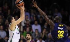 'Panathinaikos' dramatiskā mača izskaņā izlīdzina rezultātu Eirolīgas ceturtdaļfināla sērijā
