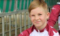 Markuss Ozoliņš izcīna sudraba medaļu pasaules BMX čempionātā B9 grupā
