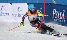 Gasūnai otrā vieta Somijas čempionātā slalomā