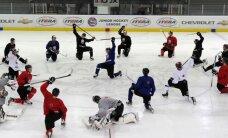 Laviņš arī uzsācis ledus treniņus kopā ar Latvijas izlasi
