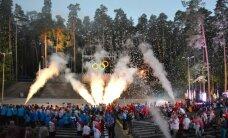 Foto: Valmierā atklāj Latvijas Jaunatnes olimpiādi