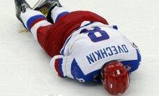 Krievija turpina uzvarēt; visticamāk, zaudē Ovečkinu