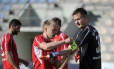 'Skonto' futbolisti ļoti svarīgā virslīgas mačā uzvar 'Jelgavu'