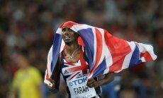 Olimpisko čempionu Farahu uz ASV robežas aiztur un nopratina kā teroristu