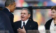ASV un Kuba nespēj vienoties par vēstniecību atvēršanu
