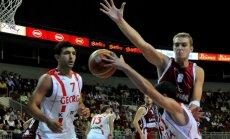 Погоня за грузинской сборной для Латвии не увенчалась успехом