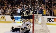 Daugaviņa 'Bruins' ar uzvaru otrajā pagarinājumā pietuvojas Stenlija kausa finālam
