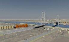 Jēkabpilī izvēlēts vanšu tilta būvnieks; zemju atpirkšana vēl nav sākusies