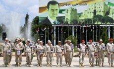 Pret ASV atbalstītajiem kurdiem varētu vērsties ar spēku, brīdina Asads