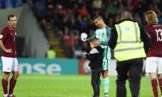 LFF pēc pārkāpumiem spēlē pret Portugāli būs jāšķiras no 10 000 eiro