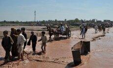 Lietusgāzēs Pakistānas ziemeļrietumos gājuši bojā vismaz 15 cilvēki