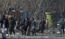 Talibu sarīkotā ātrās palīdzības automašīnas sprādzienā Kabulā nogalināti 103 cilvēki