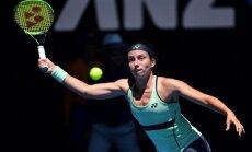 Sevastova zaudē lietus iespaidotajā Čārlstonas WTA turnīra pusfināla spēlē