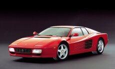 'Ferrari' zaudējis tiesības uz 'Testarossa' nosaukumu
