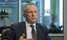 'Tas nevienu neinteresē,' par inflāciju Latvijā Eirozonas kontekstā saka LB vadītājs