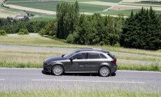 Eiropā uzsāk no elektroligzdas lādējamā 'Audi A3' hibrīda tirdzniecību