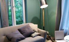 Jauna telpa: viesistabas pārvērtības gaumīgā skandināvu stilā