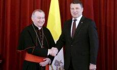 Президент пригласил Папу Римского Франциска посетить Латвию