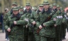 Foto: Krimā zvērestu nodevusi pirmā pašaizsardzības vienība