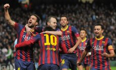 Luiss Enrike ar uzvaru debitē pie 'Barcelona' stūres
