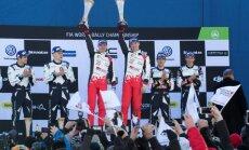 'Toyota' svin uzvaru savā otrajā WRC sacīkstē, Latvala kļūst par kopvērtējuma līderi