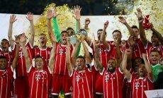 Minhenes 'Bayern' sesto gadu pēc kārtas kļūst par Vācijas bundeslīgas čempioniem