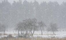 Ceturtdien visā Latvijā snigs