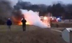 Tenesī štatā nokritusi lidmašīna; 4 cilvēki gājuši bojā