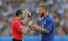 Itālijai spēlē pret Vāciju nepalīdzēs de Rosi