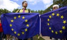 Somijas pilsētiņa Krievijas pierobežā visu Eiropu aicina pacelt ES karogus