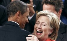 Обама выразил поддержку Хиллари Клинтон в борьбе за президентский пост