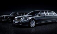ФОТО: Mercedes-Benz показал первые изображения лимузина Pullman