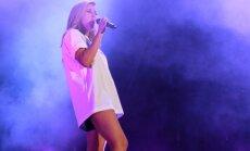 Foto: Elijas Goldingas uzstāšanās 'Positivus' festivālā