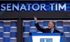 Demokrātu partija nominē Timu Keinu ASV viceprezidenta amatam