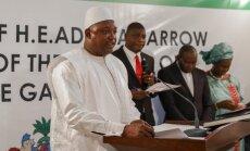 Gambijas līdzšinējais vadītājs piekritis atstāt amatu, paziņo jaunievēlētais prezidents