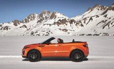 'Range Rover Evoque' kabriolets sērijveida versijā
