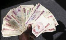 Zimbabves dolāra nedienas jeb kā kļūt par kvadriljonāru
