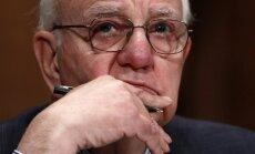 Viens no potenciālajiem 'Citadeles' investoriem - bijušais ASV Federālo Rezervju sistēmas vadītājs Volkers