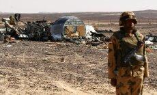 Ēģiptes ministrs: nav pierādījumu, ka Krievijas lidmašīnas katastrofu izraisījusi bumba