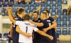 Latvijas volejbola izlase ar spēli pret Horvātiju noslēdz dalību EČ otrās kārtas kvalifikācijas turnīrā