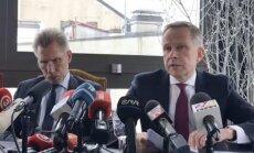 Video: Rimšēvičs preses konferencē stāsta par aizturēšanu