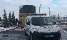 Poļu autobusu Ļvivā spridzinājuši provokatori, uzskata Ukrainas ministrs