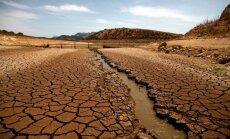 Sirreāli foto: Kā lielajā sausumā izskatās Andalūzijas lauki un ūdenstilpnes