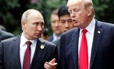 Eksperts: šobrīd Putins un Tramps redz pasauli līdzīgi, kurā katrs domā par sevi