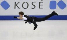 Daiļslidotājam Vasiļjevam personiskais rekords un trešā vieta pēc pasaules čempionāta junioriem īsās programmas