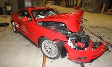 'Ford Mustang' izgāzies 'EuroNCAP' drošības testos