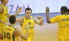 'Ventspils' basketbolisti aizvada izšķirošo spēli par iekļūšanu Izaicinājuma kausa ceturtdaļfinālā